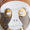 PINK CHIC BRAZZA MASK BY ELENA SALMISTRARO