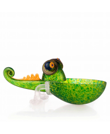 CHAMELEON SMALL GLASS BOWL
