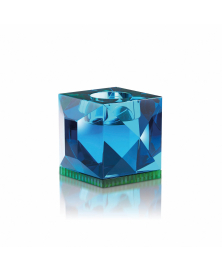OPHELIA AZURE TEALIGHT HOLDER