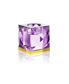 OPHELIA PURPLE TEALIGHT HOLDER