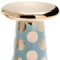 VINTAGE GREEN AND GOLD POLKA DOT T-TABLE BY JAIME HAYON