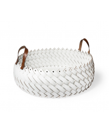 Short Large Basket with Handels