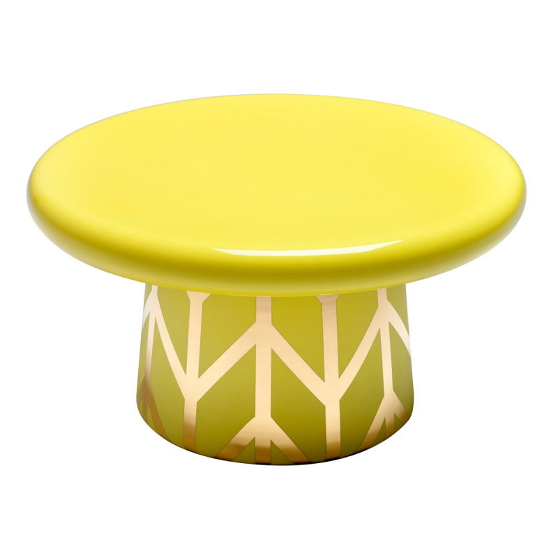 LEMON YELLOW AND GOLD T-TABLE MAXI D10 BY JAIME HAYON