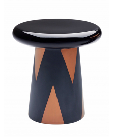 BLACK AND COPPER T-TABLE DESIGNED BY JAIME HAYON
