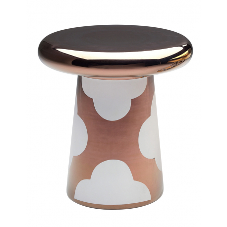 T-TABLE White & Copper