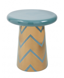 T-TABLE IN VINTAGE GREEN AND GOLD DESIGNED BY JAIME HAYON