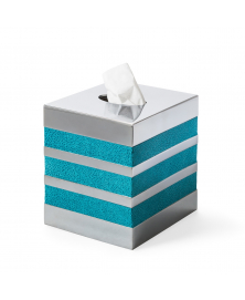SATURNO SEA BLUE TISSUE BOX