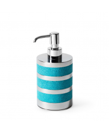 SATURNO SEA BLUE SOAP DISPENSER