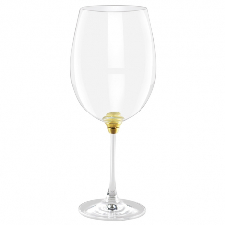 GIRA E RIGIRA WINE 85 GLASS IN GOLD FINISH