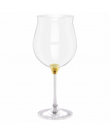 GIRA E RIGIRA ROTATING WINE GLASS 66 IN GOLD FINISH