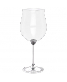 GIRA E RIGIRA SPINNING WINE GLASS 66 IN SILVER FINISH