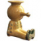 GLOSSY BARLEY PINOCCHIETTO CANDLE HOLDER