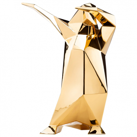 GOLD DAB PENGUIN SCULPTURE BY VITTORIO GENNARI
