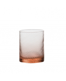 SET OF 6 GRITTI ROSA LOWBALL GLASSES