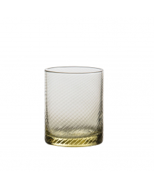 SET OF 6 GRITTI GIALLO LOWBALL GLASSES