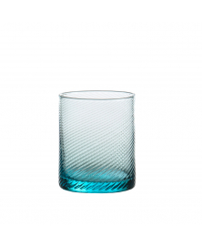 SET OF 6 GRITTI AQUA SKY LOWBALL GLASSES