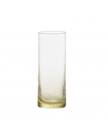 SET OF 6 GRITTI GIALLO HIGHBALL GLASSES