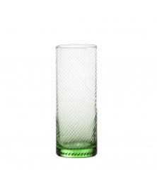 SET OF 6 GRITTI VERDE PRATO HIGHBALL GLASSES