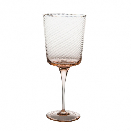 SET OF 4 TORSÉ ROSA QUARZO WINE GLASSES
