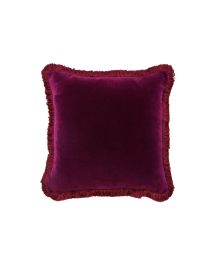 AZALEA PURPLE SOLID VELVET PILLOW