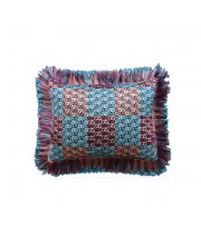 PAVONE TRIBAL INSPIRED FRINGE PILLOW