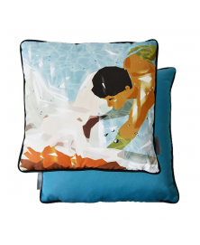 ARTISTIC MERMAID SET OF TWO THROW PILLOWS