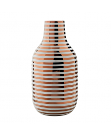 JAIME HAYON STRYPY COPPER LINED CERMIC VASE