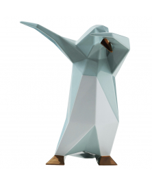 DAB PENGUIN SCULPTURE BY VITTORIO GENNARI IN VINTAGE GREEN