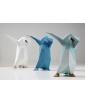 GROUP OF THREE DAB PENGUIN SCULPTURES BY VITTORIO GENNARI