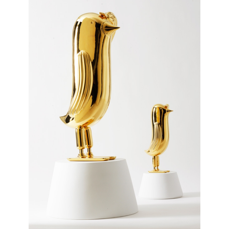 GOLD HOPEBIRD SCULPTURE DESIGNED BY JAIME HAYON