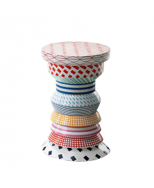 BOSSA NOVA REGINA MULTICOLOR SIDE TABLE