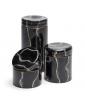 BLACK MARMO GLASS BOXES
