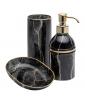 MARMO Black Bath Accessories
