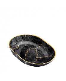 MARMO Black Bath Accessories