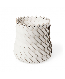ALMERIA OFF-WHITE MEDIUM WOVEN BASKET