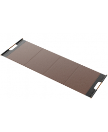 MATA Large Fitness Mat in Brown Leather