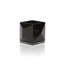 OPHELIA BLACK TEALIGHT HOLDER