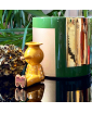 True Green and Gold Roller Vase & Yellow Pinocchietto Candleholder by Jaime Hayon