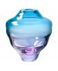 TRDLIK Turquoise Glass Vase by Frantisek Jungvirt, photo by Anna Pleslova