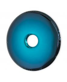Deep Space Blue Rondo Mirror by Oskar Zieta. The Gradient Collection