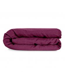 Fuchsia Linen Duvet Cover from Once Milano
