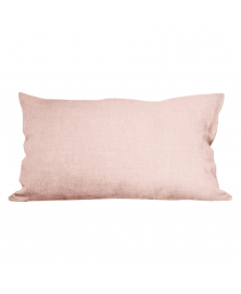 Once Milano Pale Pink Linen Basic Pillowcase